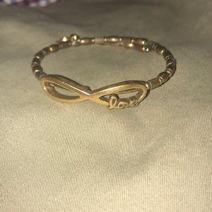 Alex & Ani Love Infinity Bracelet